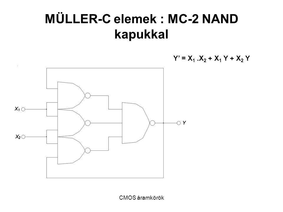 MÜLLER-C elemek : MC-2 NAND kapukkal