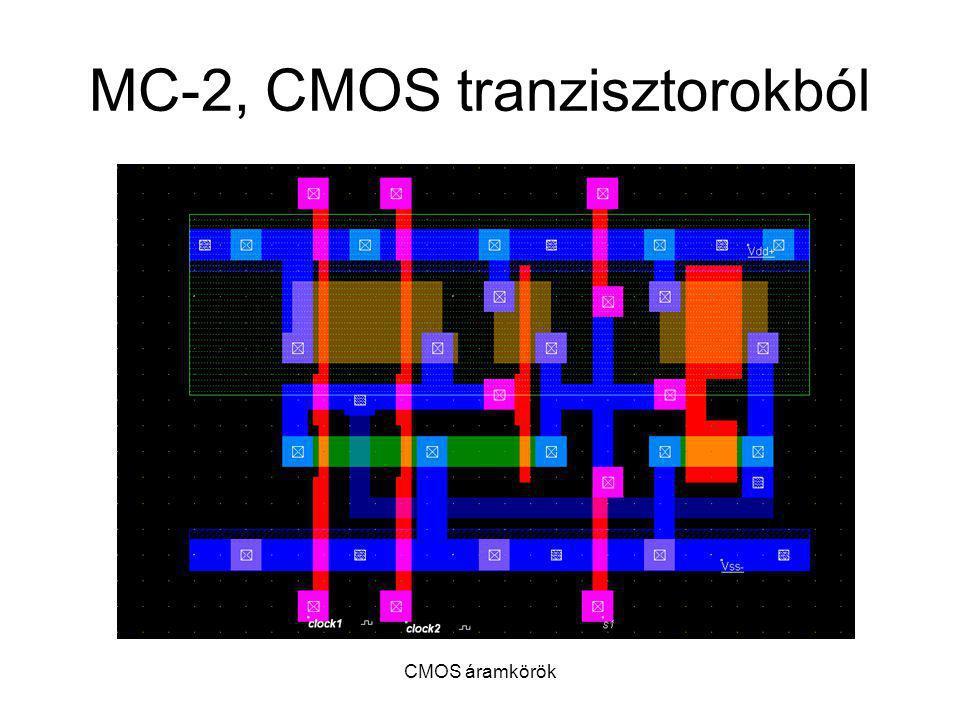 MC-2, CMOS tranzisztorokból