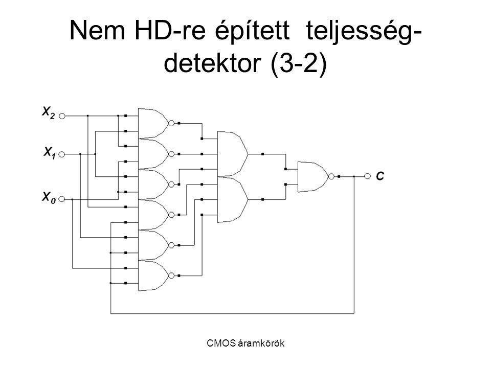Nem HD-re épített teljesség-detektor (3-2)