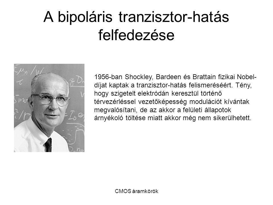 A bipoláris tranzisztor-hatás felfedezése