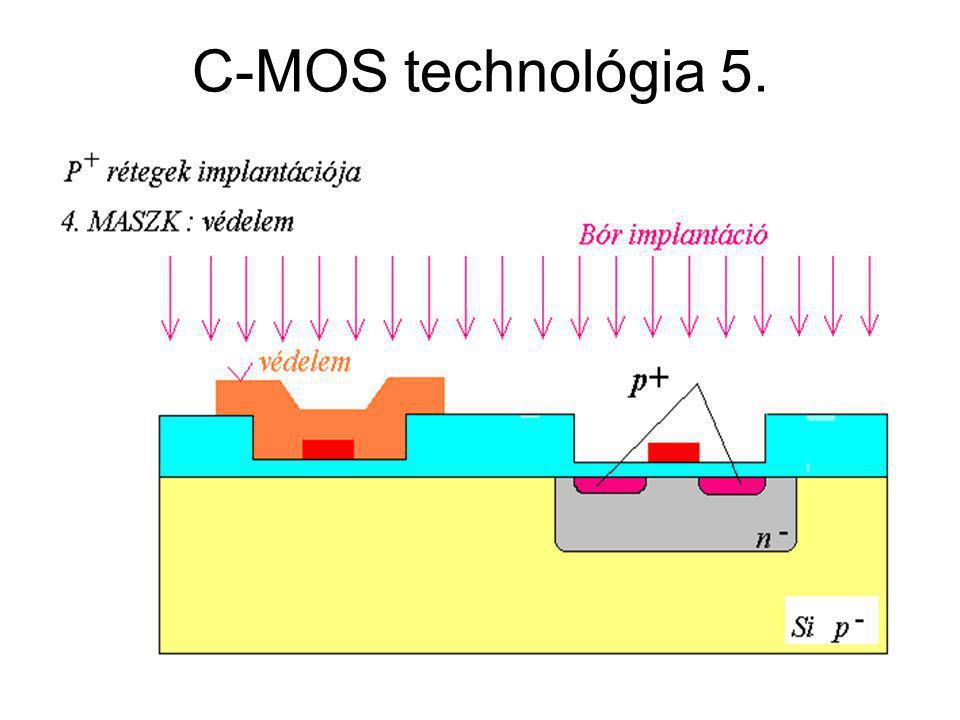 C-MOS technológia 5. CMOS áramkörök