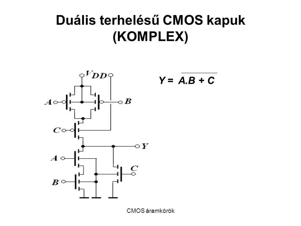 Duális terhelésű CMOS kapuk (KOMPLEX)