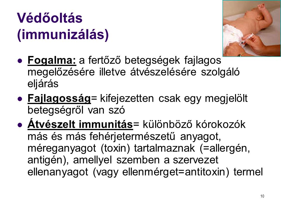 Védőoltás (immunizálás)
