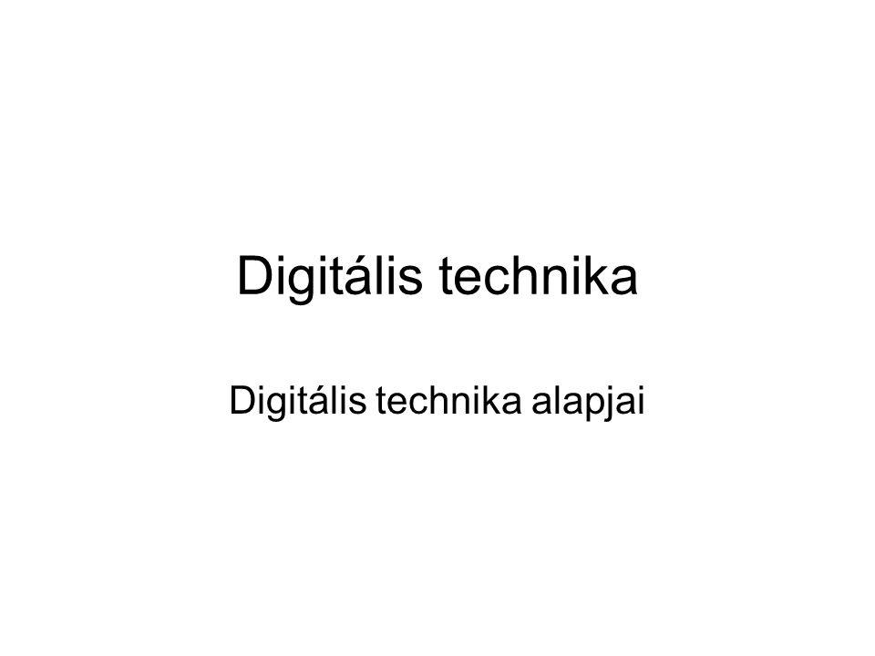 Digitális technika alapjai