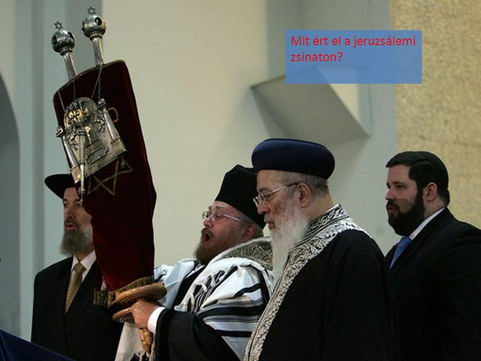 Mit ért el a jeruzsálemi zsinaton