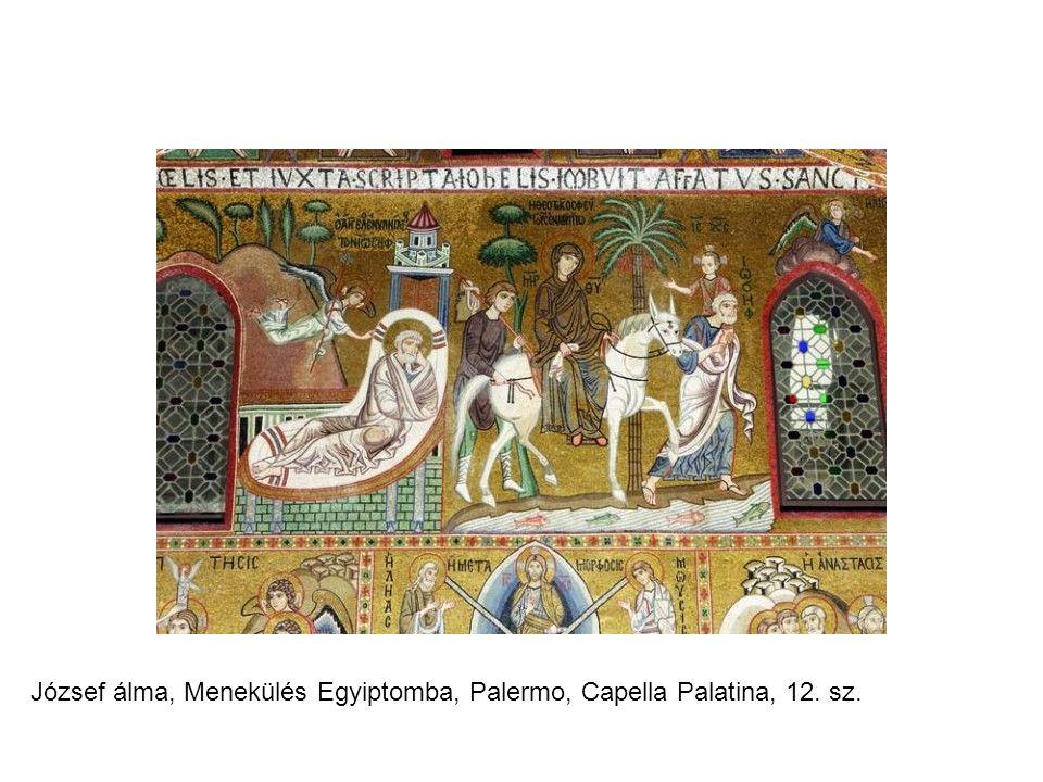 József álma, Menekülés Egyiptomba, Palermo, Capella Palatina, 12. sz.