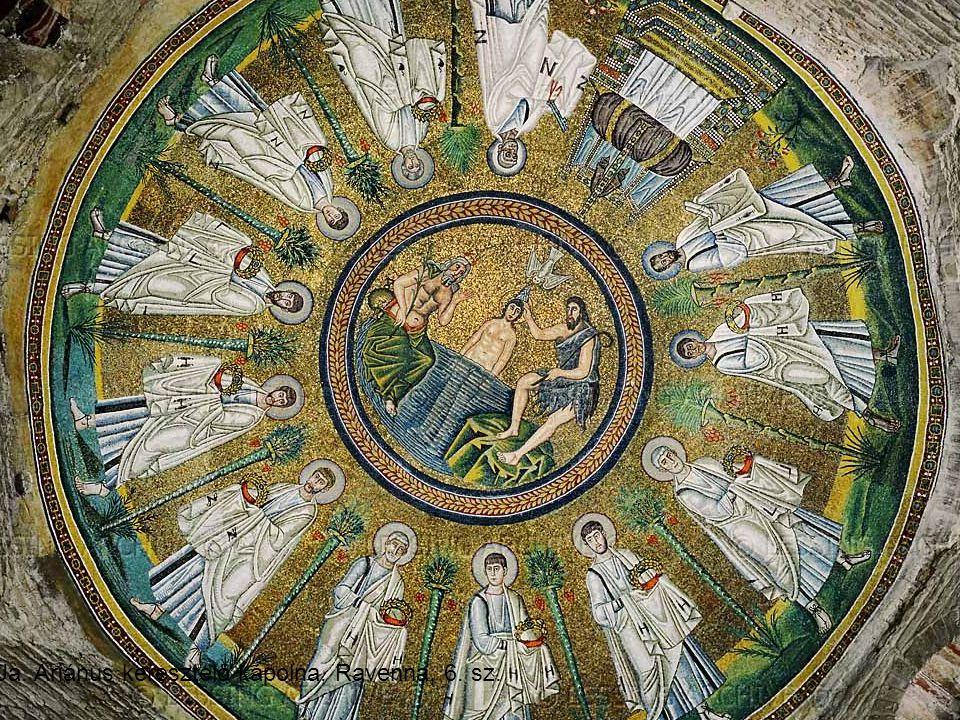 Ua. Ariánus keresztelő kápolna, Ravenna, 6. sz.