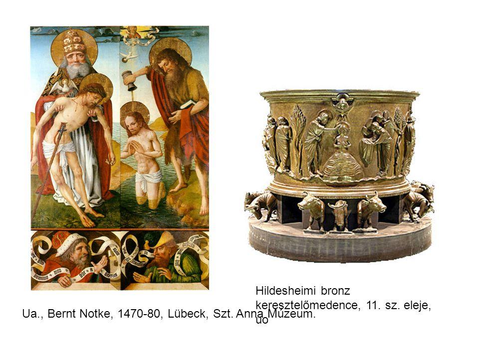 Hildesheimi bronz keresztelőmedence, 11. sz. eleje, uo