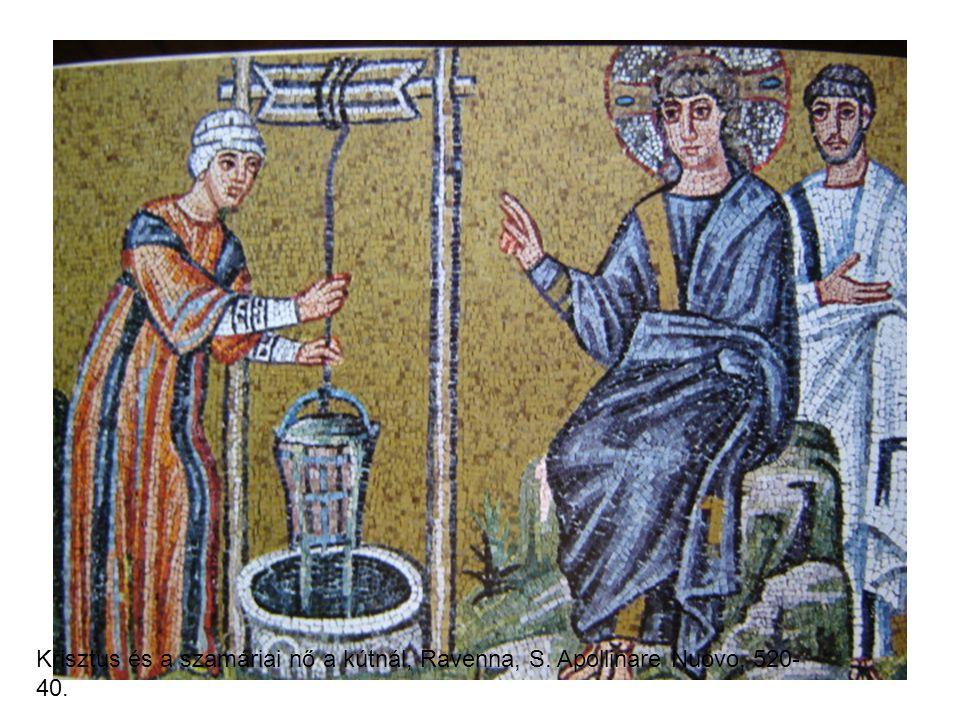Krisztus és a szamáriai nő a kútnál, Ravenna, S