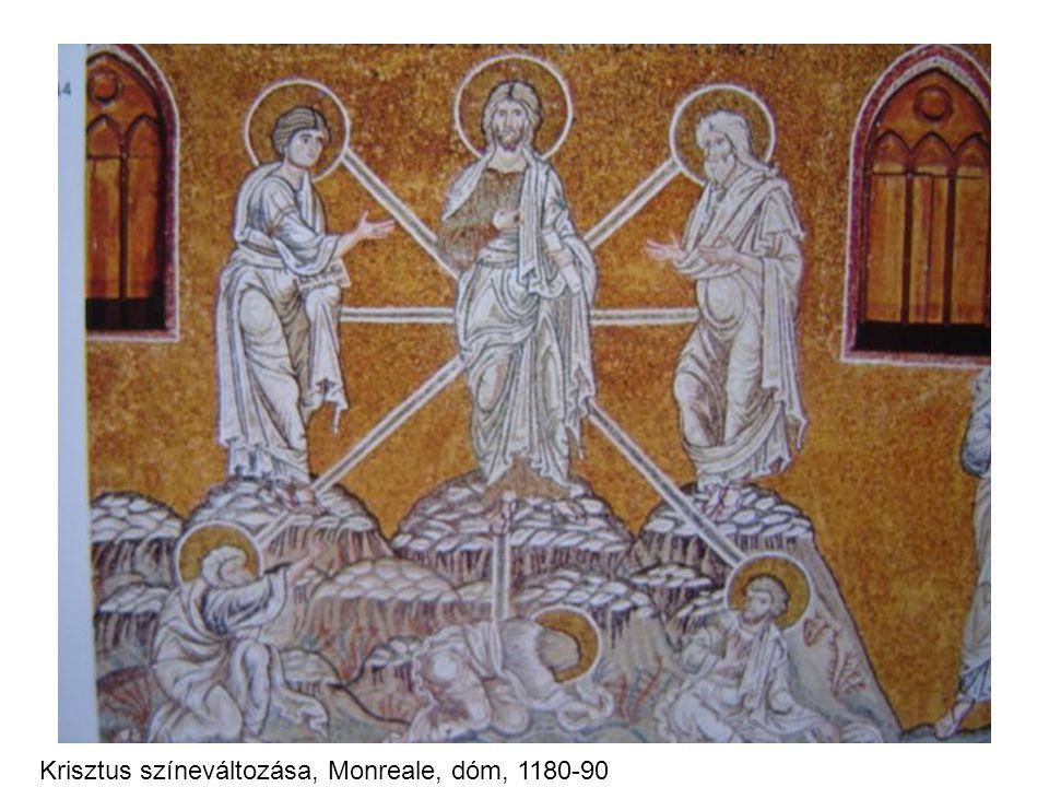 Krisztus színeváltozása, Monreale, dóm, 1180-90