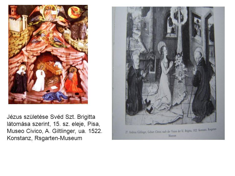 Jézus születése Svéd Szt. Brigitta látomása szerint, 15. sz