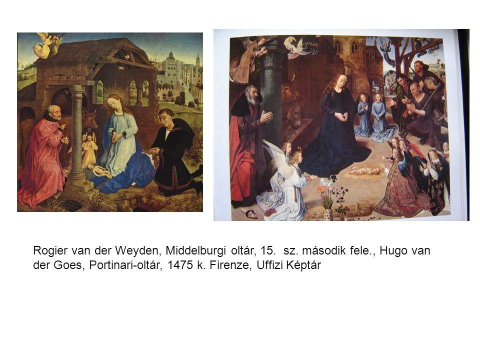 Rogier van der Weyden, Middelburgi oltár, 15. sz. második fele