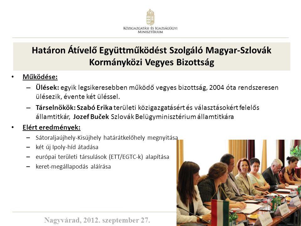 Határon Átívelő Együttműködést Szolgáló Magyar-Szlovák Kormányközi Vegyes Bizottság