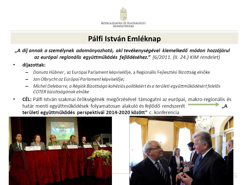 Pálfi István Emléknap