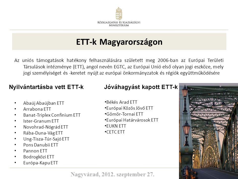 ETT-k Magyarországon