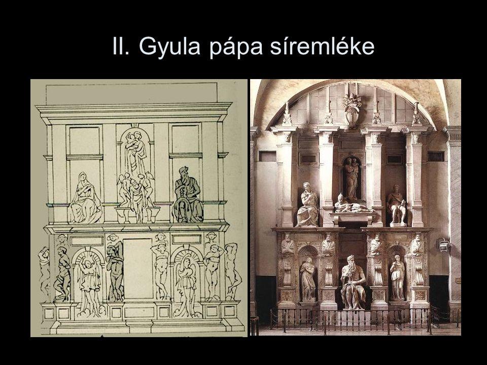 II. Gyula pápa síremléke