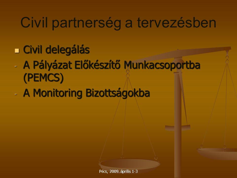Civil partnerség a tervezésben