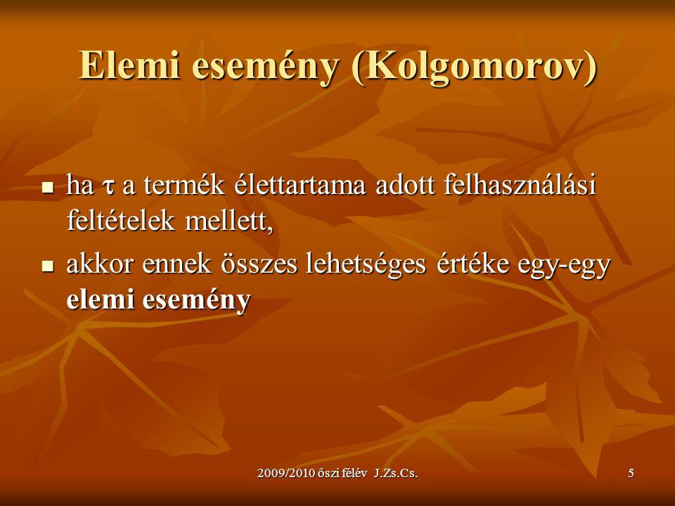 Elemi esemény (Kolgomorov)