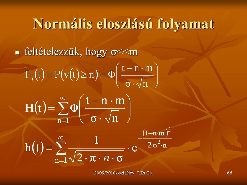 Normális eloszlású folyamat