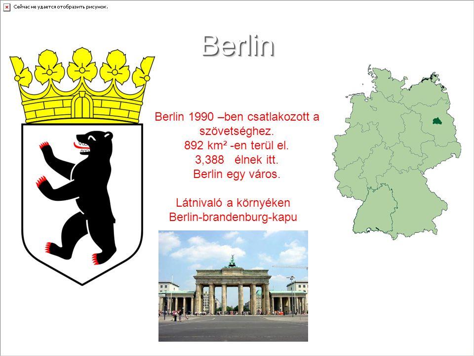 Látnivaló a környéken Berlin-brandenburg-kapu