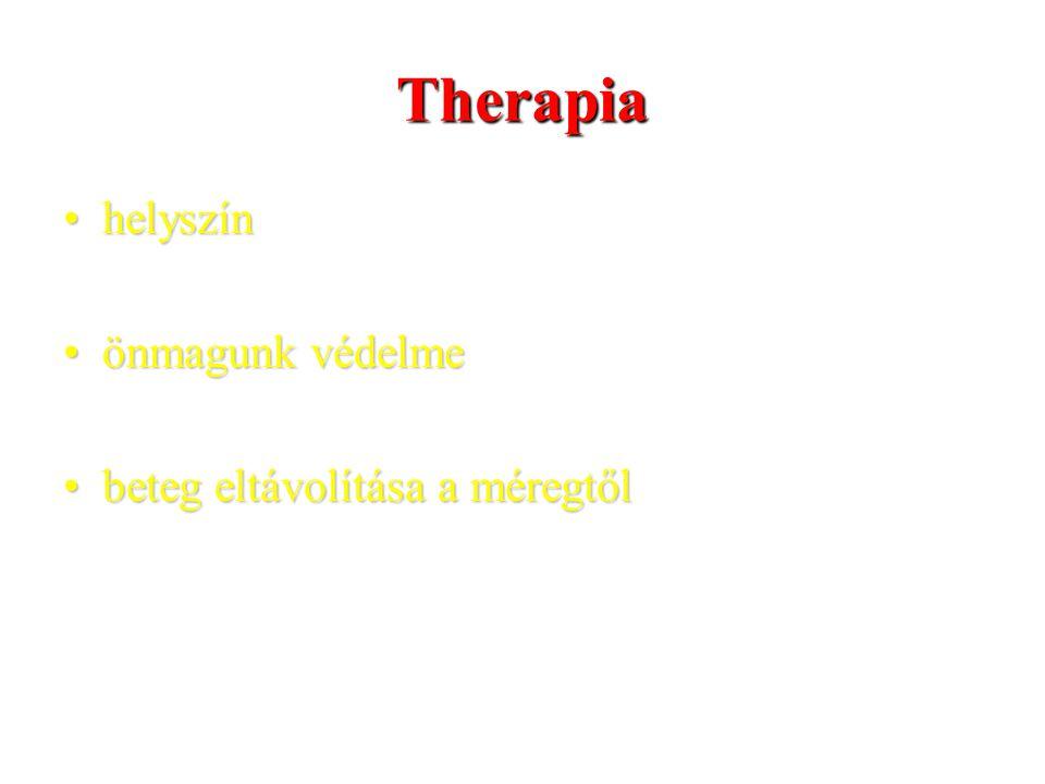 Therapia helyszín önmagunk védelme beteg eltávolítása a méregtől