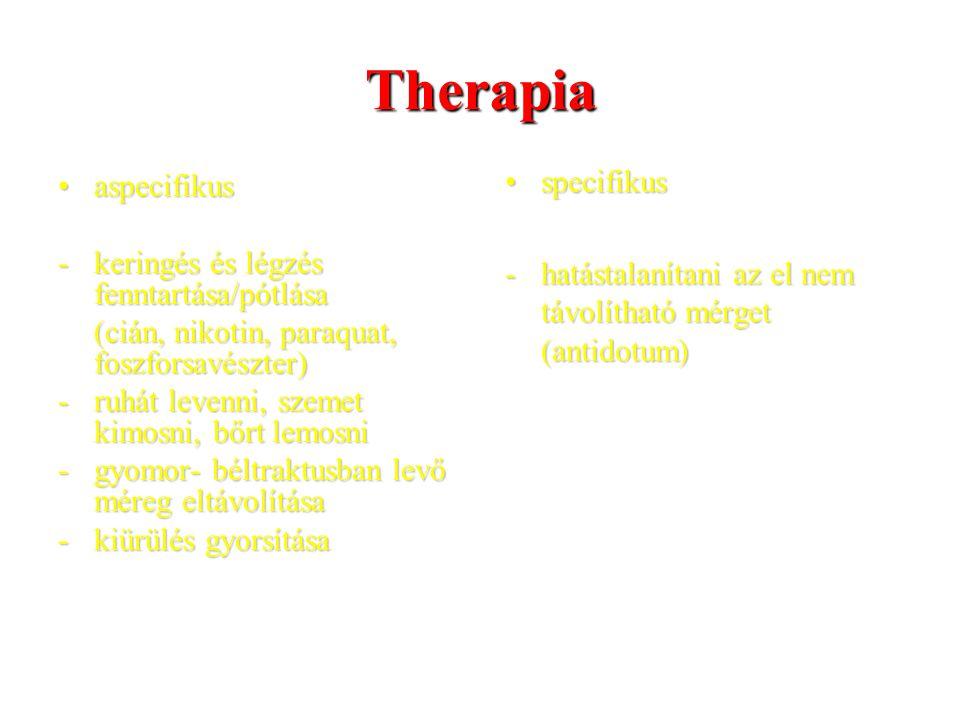 Therapia specifikus aspecifikus
