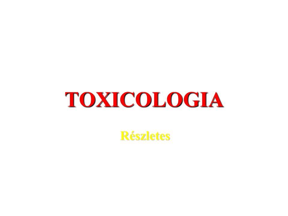 TOXICOLOGIA Részletes