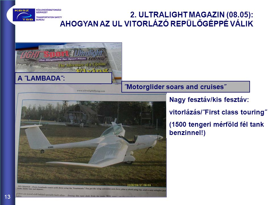 2. ULTRALIGHT MAGAZIN (08.05):