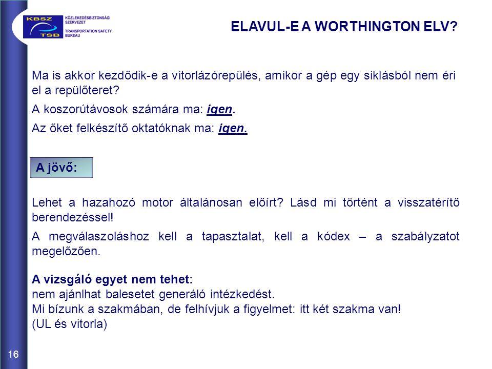 ELAVUL-E A WORTHINGTON ELV