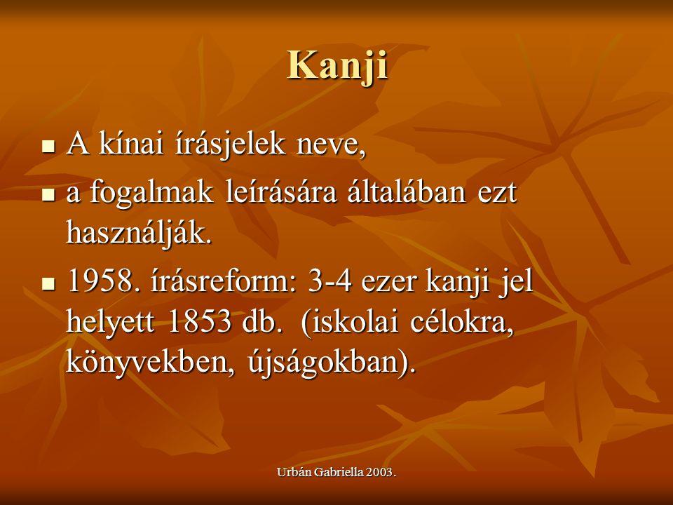 Kanji A kínai írásjelek neve,