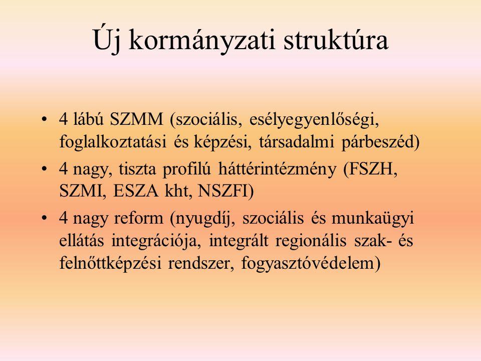 Új kormányzati struktúra