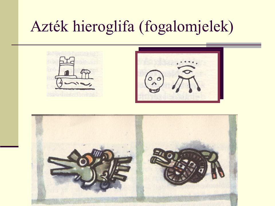 Azték hieroglifa (fogalomjelek)