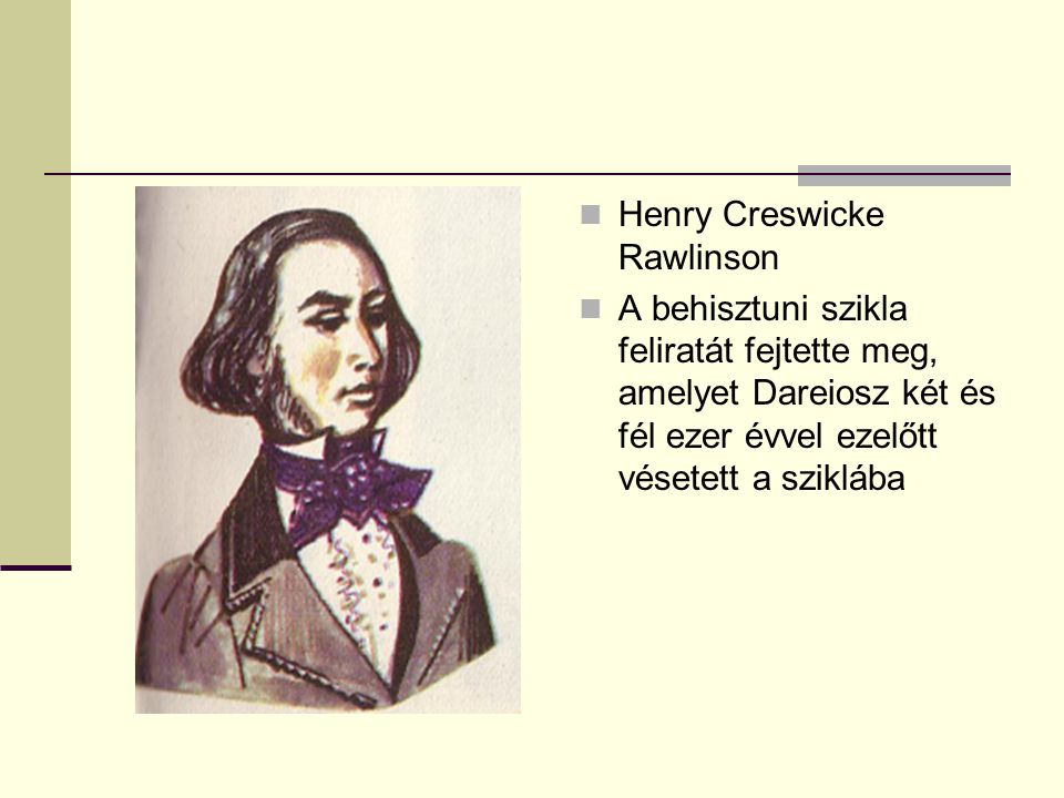Henry Creswicke Rawlinson