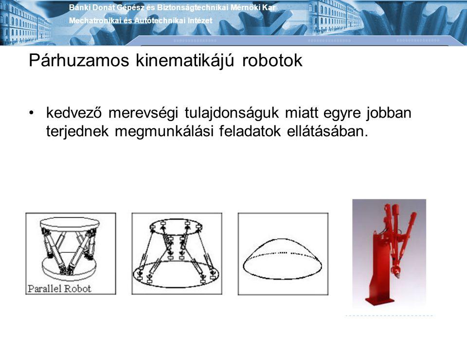 Párhuzamos kinematikájú robotok