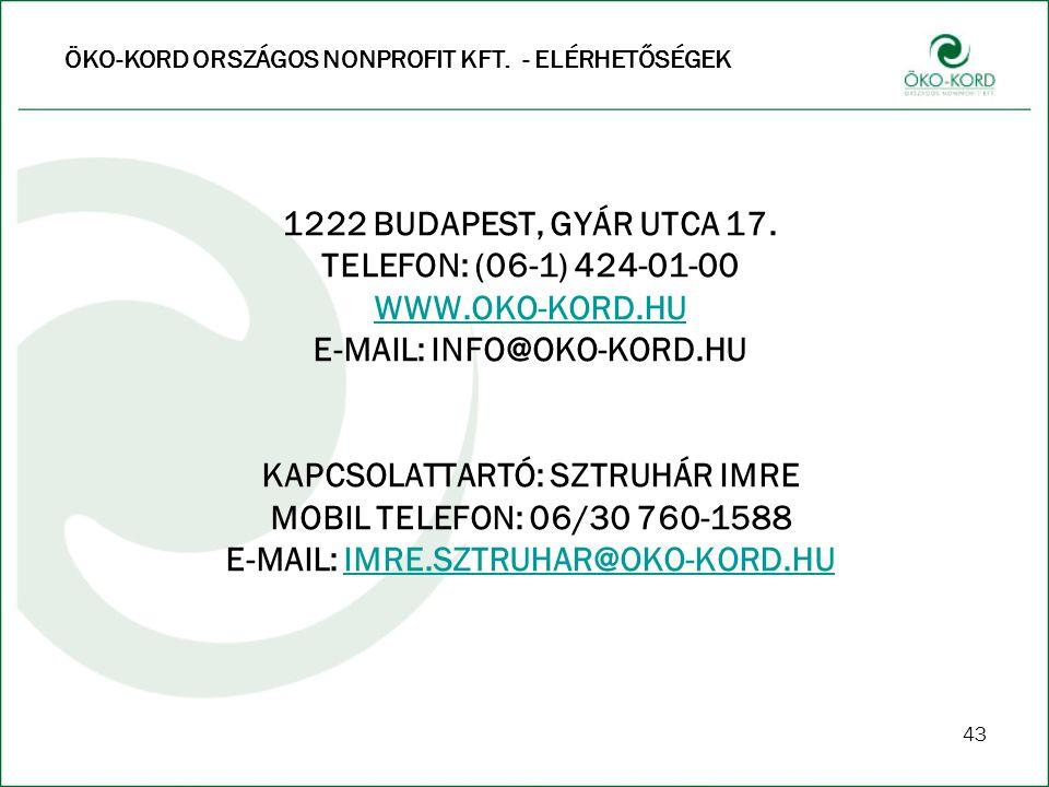 E-MAIL: INFO@OKO-KORD.HU
