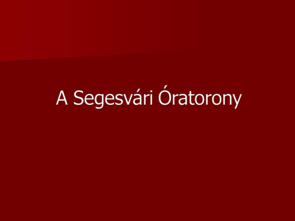 A Segesvári Óratorony