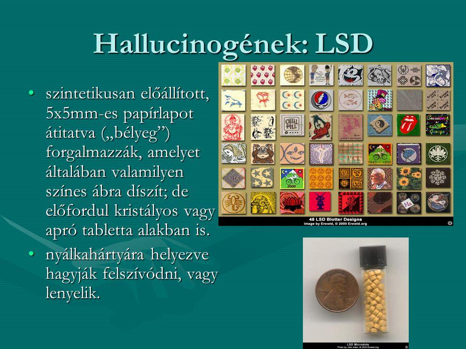 Hallucinogének: LSD