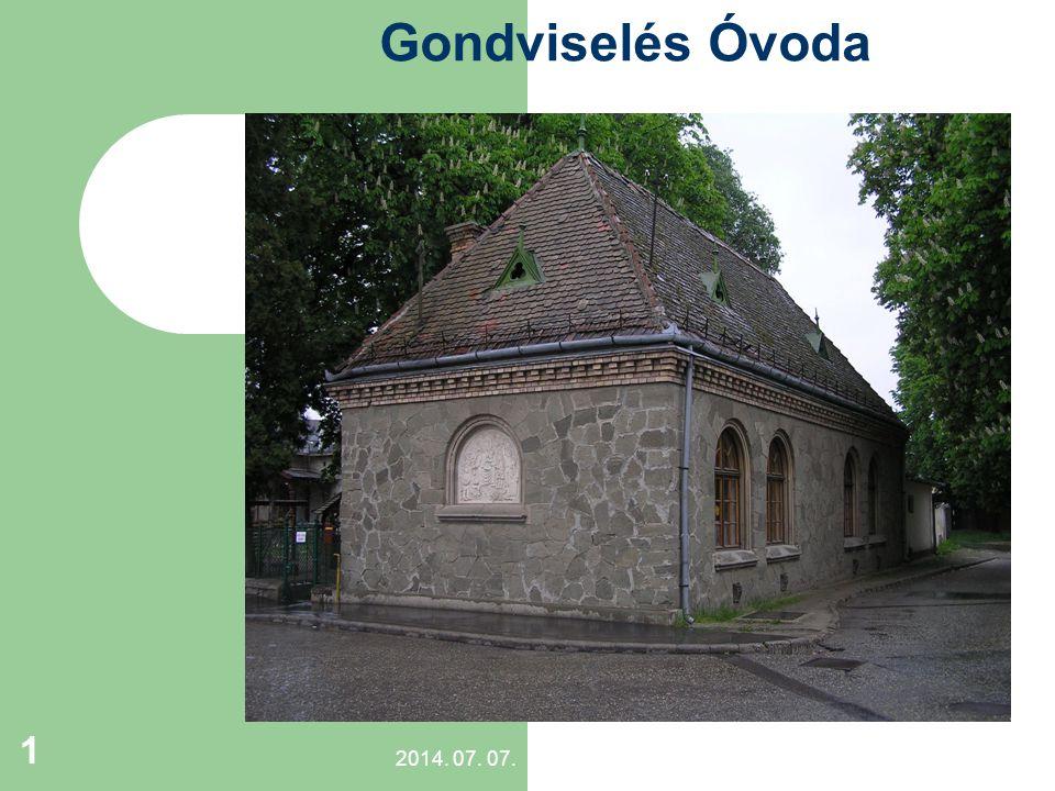 Gondviselés Óvoda . 1994 – 2010. Eltelt 16 év… 2017.04.04.