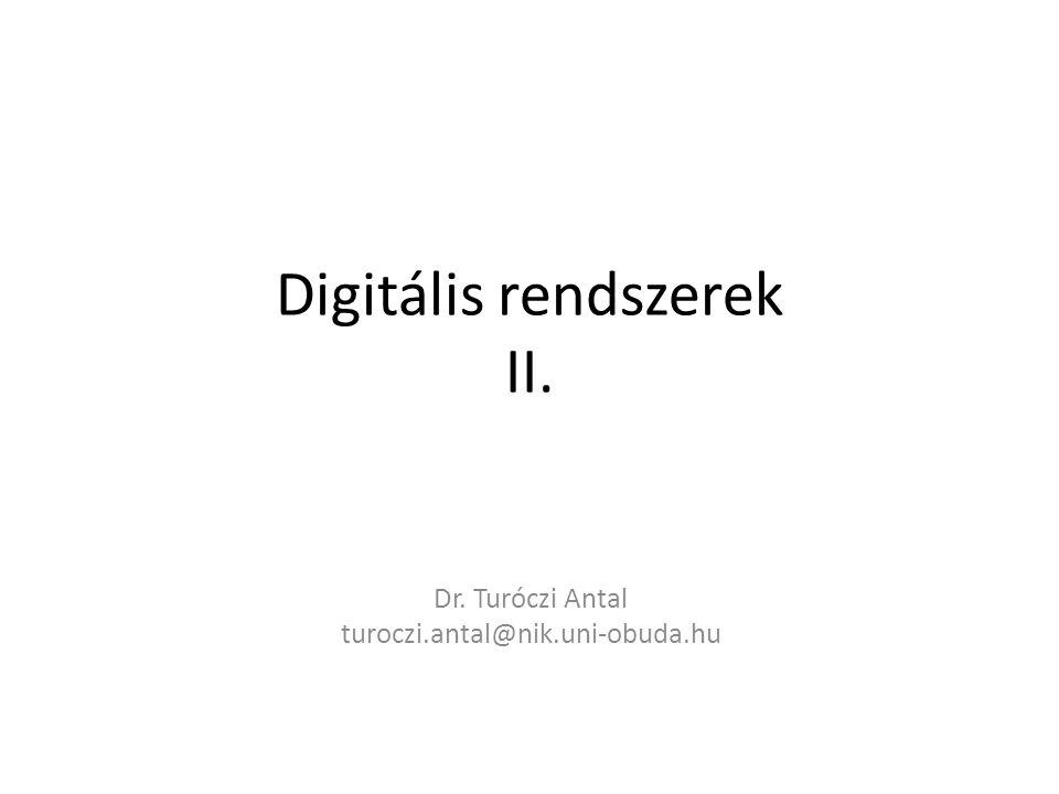Digitális rendszerek II.