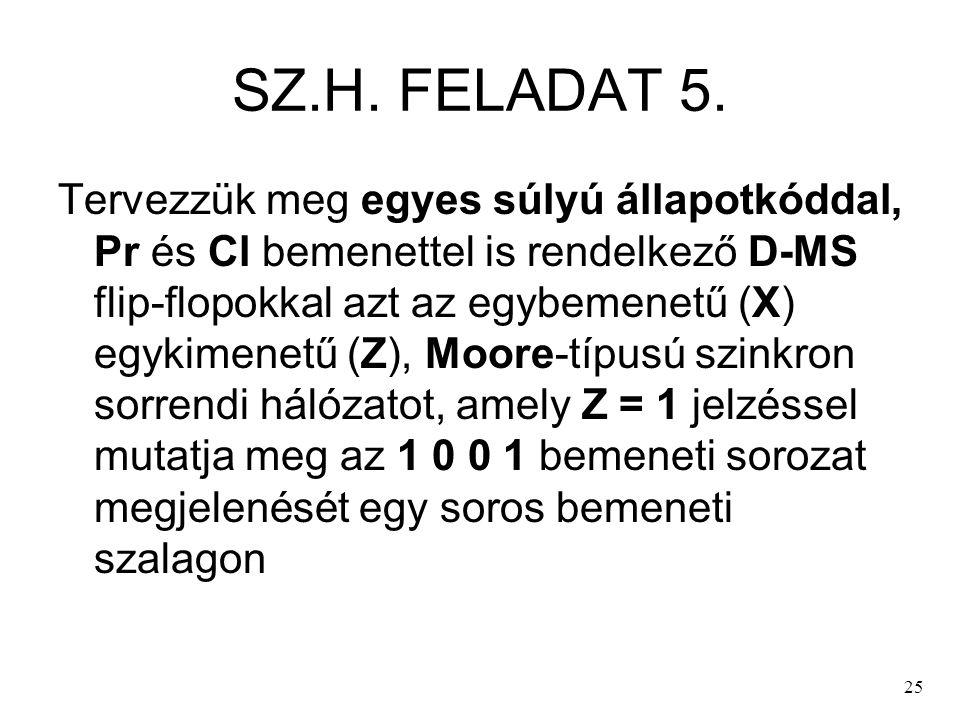 SZ.H. FELADAT 5.