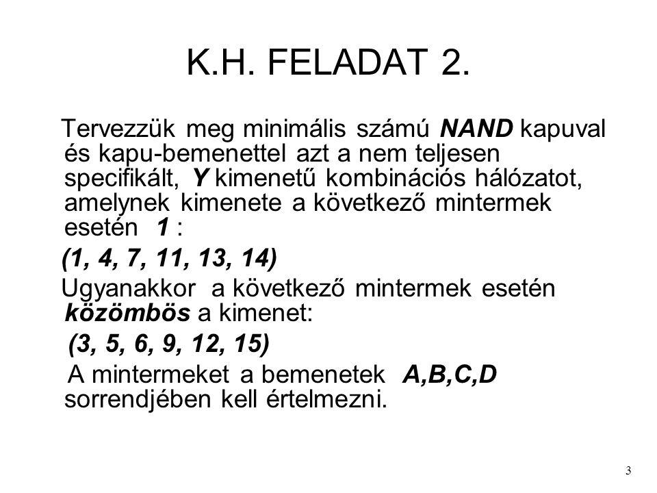 K.H. FELADAT 2.
