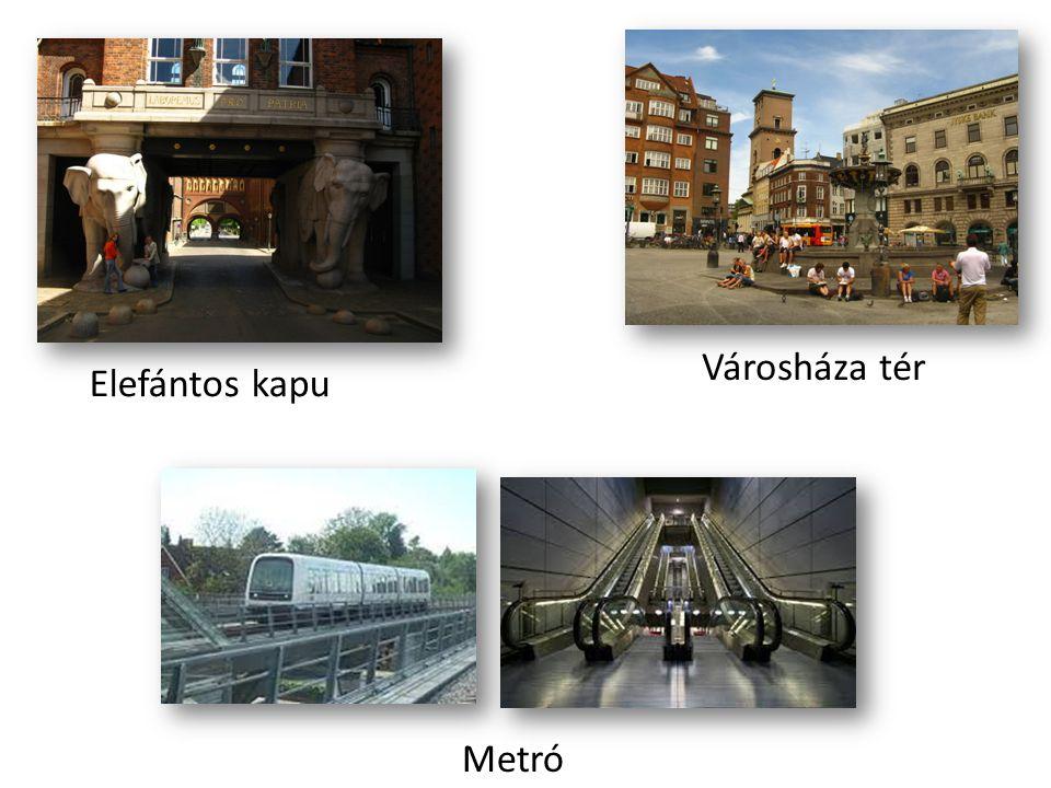 Városháza tér Elefántos kapu Metró