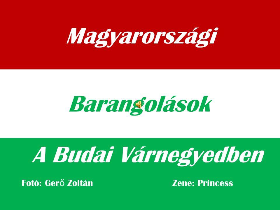 Magyarországi Barangolások A Budai Várnegyedben