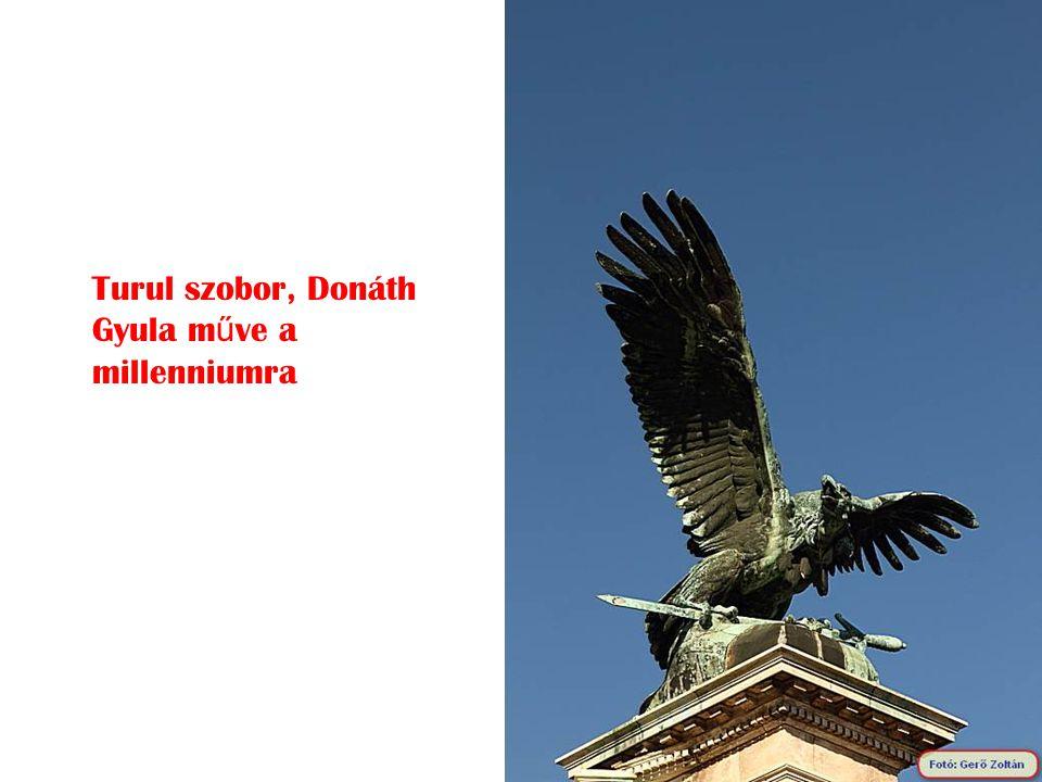 Turul szobor, Donáth Gyula műve a millenniumra