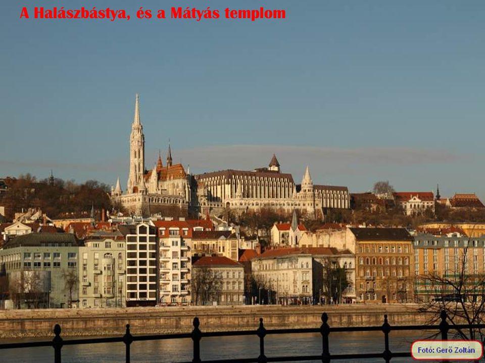 A Halászbástya, és a Mátyás templom