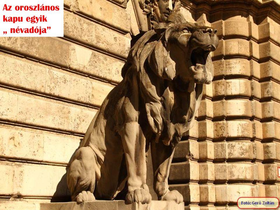 """Az oroszlános kapu egyik """" névadója"""