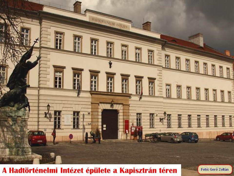 A Hadtörténelmi Intézet épülete a Kapisztrán téren