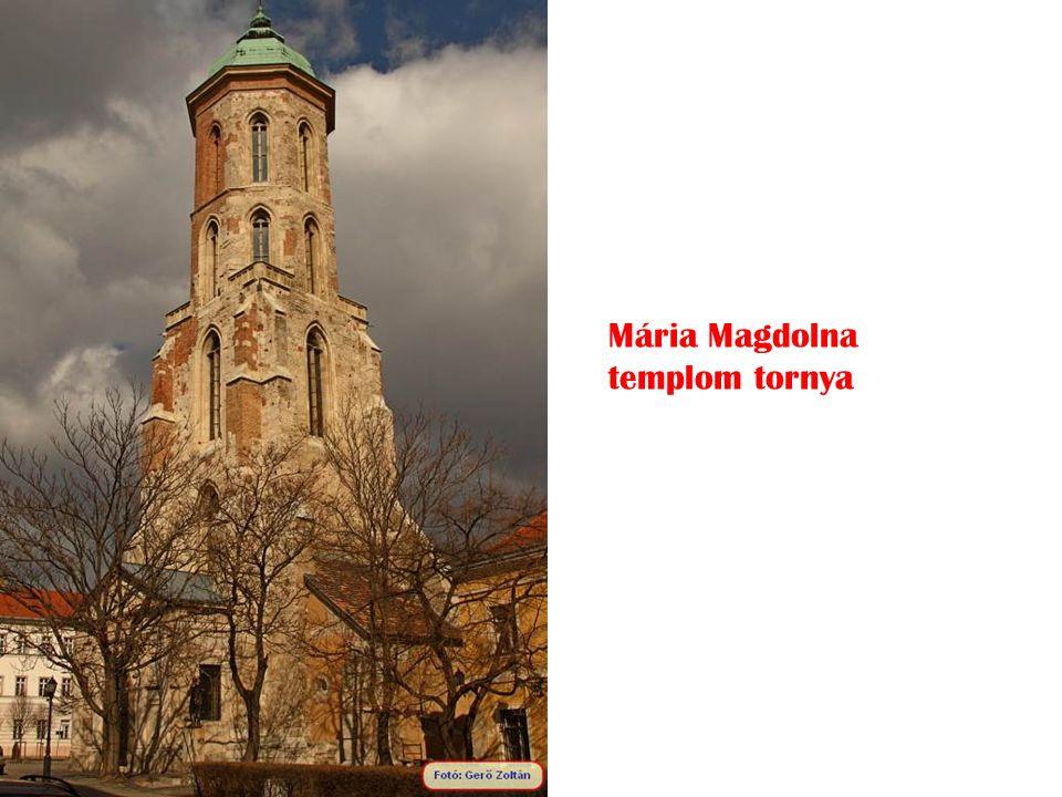 Mária Magdolna templom tornya