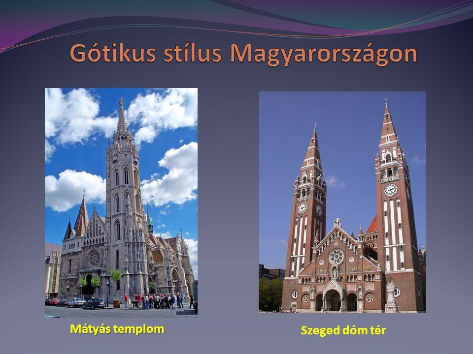 Gótikus stílus Magyarországon
