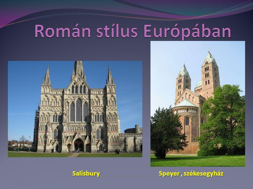 Román stílus Európában